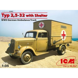 TYP 2,5-32 AMBULANCE WITH SHELTER 1/35