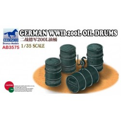GERMAN WWII 200L OIL DRUMS 1/35