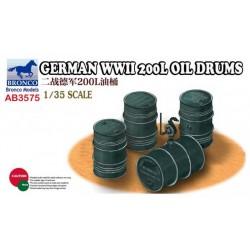GERMAN WWII 200L OIL DRUMS 1/35