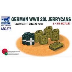 GERMAN WWII 20L JERRYCANS 1/35