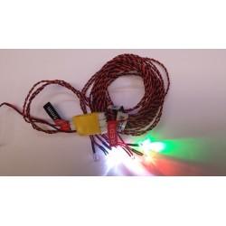 Navigatie verlichting voor Heli en plane 4.5-6V