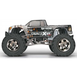1/8 Nitro Monster Truck Savage X 4.6