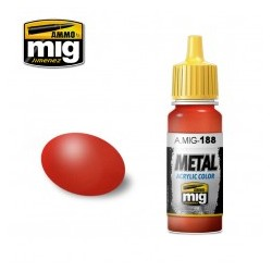 Mig metallic red A.MIG-188 17ml.