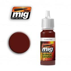 Mig Crystal Red A.MIG-093 17ml.