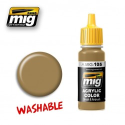 Mig Washable Dust A.MIG-105 RAL 8000 17ml.