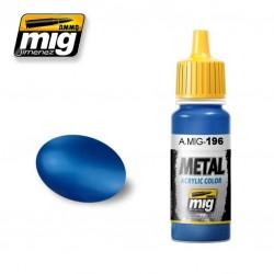 Mig Warhead Metallic Blue A.MIG-196 17ml.