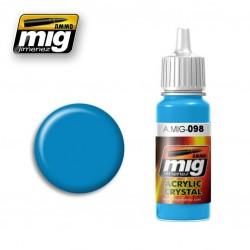 Mig Crystal Light Blue A.MIG-098 17ml.