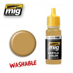 Mig Washable Sand A.MIG-106 RAL8020 17ml.