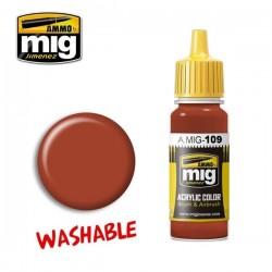 Mig Washable rust A.MIG-109 17ml.