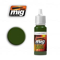 Mig Crystal Green A.MIG-092 17ml.