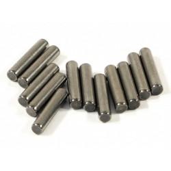 HPIZ260 pin voor 1/10 zeskant wielmeenemer 2.5x12mm 12 stuks