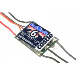 Castle Thunder Bird 6 Sport Air Brushless Esc 2-3S  6A  Bec