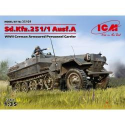 SD.KFZ.251/1 AUSF.A 1/35