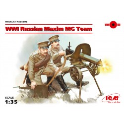 WWI RUSSIAN MAXIM MG TEAM 1/35