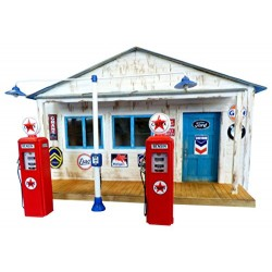 Gas station 1/35
