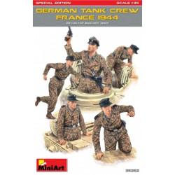 GERMAN TANK CREW FRANCE 1944 WWII 1/35