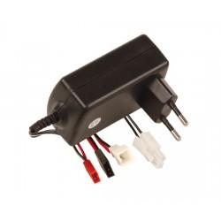 Adapterlader 4-8 NiMH packs 1A Tamiyaplug
