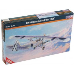 RWD-8 SPANISH CIVIL WAR 1936 1/72