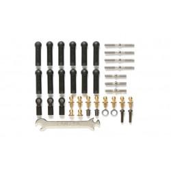 Tamiya 54539 Full turnbuckle set (o.a. TT-02B)
