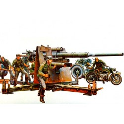 german 88 mm gun flak 36/37