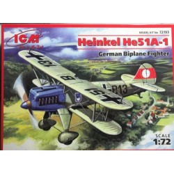 HEINKEL HE51A-1 GERMAN FIGHTER