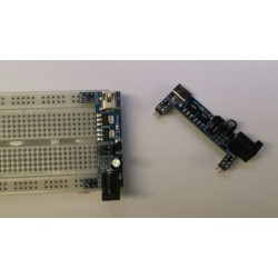 breadboard power converter