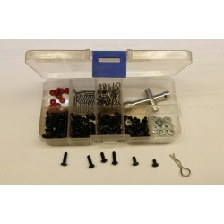 1/10 small parts assortiment met wielsleutel