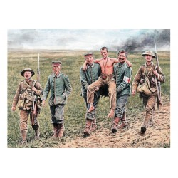 BRITISH & GERMAN SOLDIERS 1916 1/35