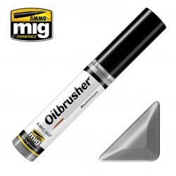 MIG Oilbrusher Aluminium 10ml.