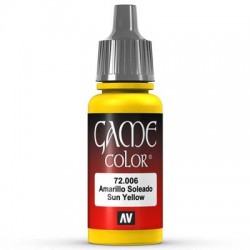 Game color sun yellow 17ml.