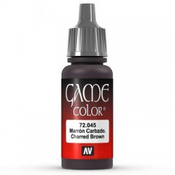 Game color charred brown 17ml.