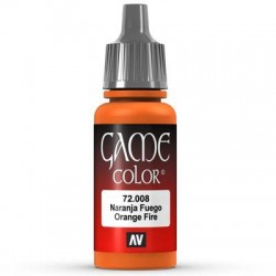 Game color orange fire 17ml.