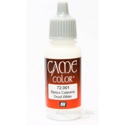 Game color dead white 17ml.