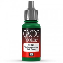 Game color sick green 17ml.