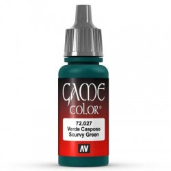 Game color scurvy green 17ml.