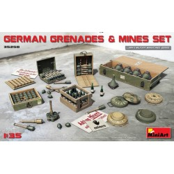 GERMAN GRENADES & MINES SET 1/35