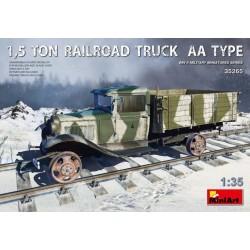 1,5 TON RAILROAD TRUCK AA TYPE 1/35