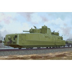 SOVIET MBV-2 ARMORED TRAIN 1/35