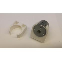 130/180/300/280/260 pvc motorsteun 24mm