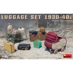 LUGGAGE SET, KINDERWAGEN EN KOFFER 1930-40S 1/35