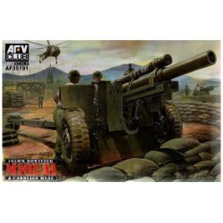 105MM HOWITZER M101 A1 CARRIAGE M2 A2 1/35