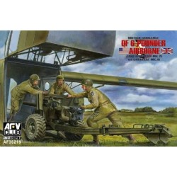 BRITISH 6-POUNDER AIRBORNE ANTI TANK GUN 1/35