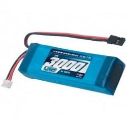 LiPo zendaccu 3000 TX-Pack Sanwa M12/MT-4/Exzes-X/MT-S TX 7.4V