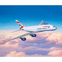 AIRBUS A380-800 BRIISH AIRWAYS 1/144 50X55CM