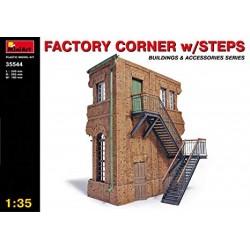 FACTORY CORNER W/STEPS 1/35