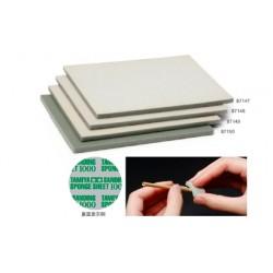 Flexibele schuur/polijst spons sheet 1000