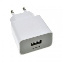 Universeel USB adapter 2100mA wit