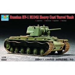 RUSSIAN KV-1 M1942 TANK 1/72