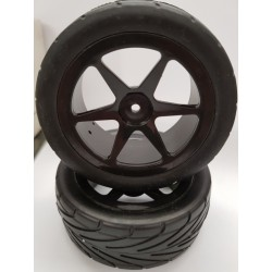 1/10 onroad buggy band (REAR) 2st. 12mm hex 83x39mm