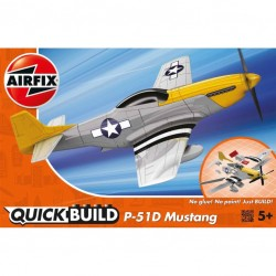 QUICKBUILD P-51D MUSTANG LEVEL 1!